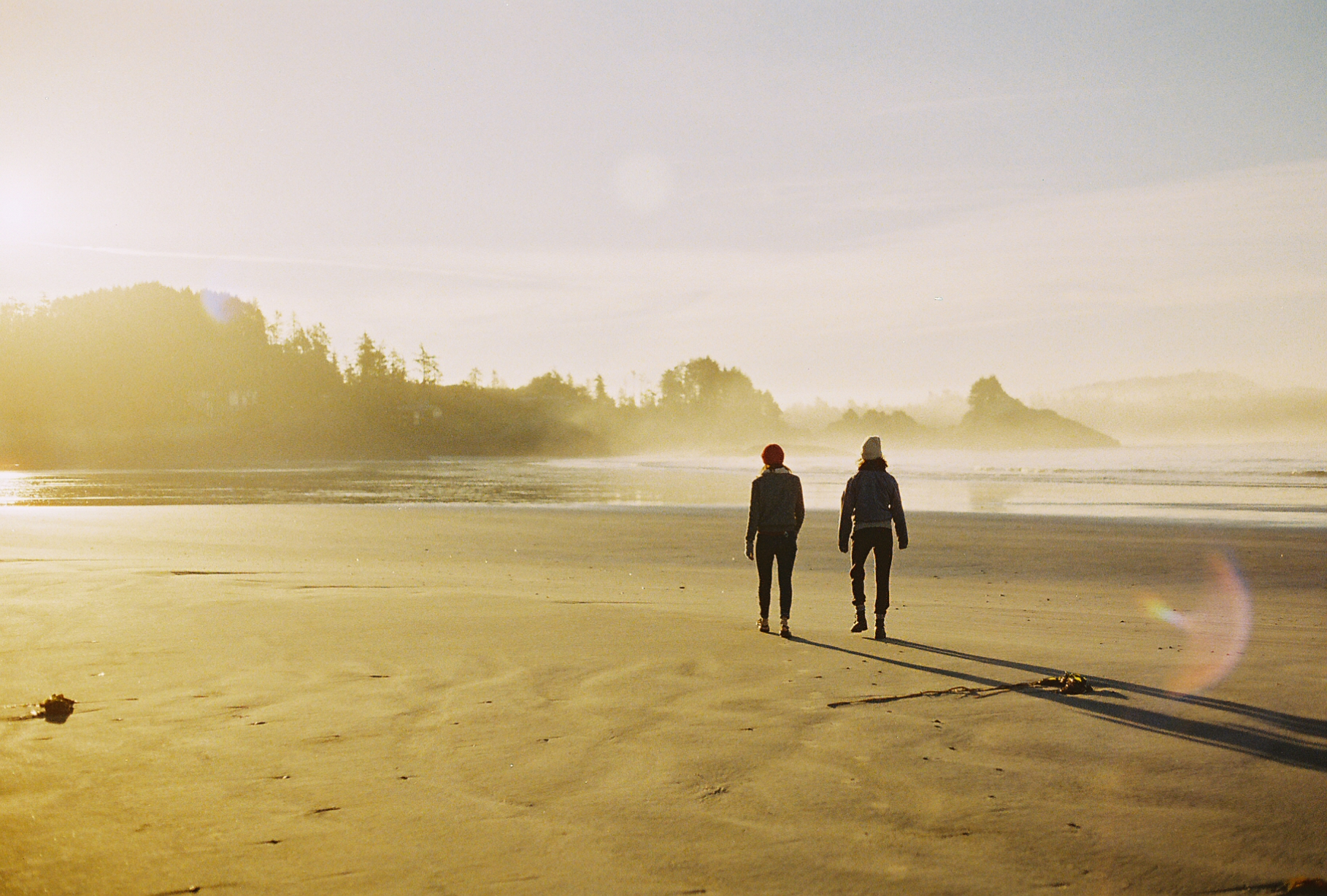 Image of low-tide walk on chesterman beach copyright nick barry